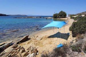 Grande tente de plage Shadysand