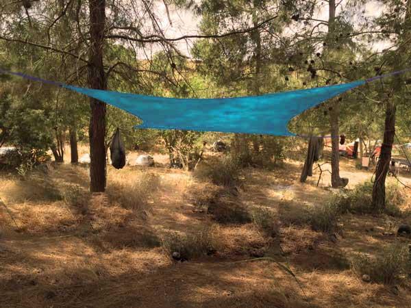 Tente de plage Shadysand au camping