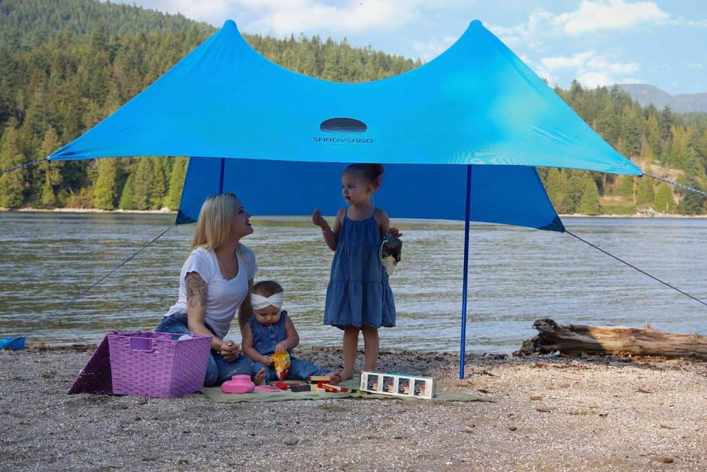 shadysand tente de plage familiale