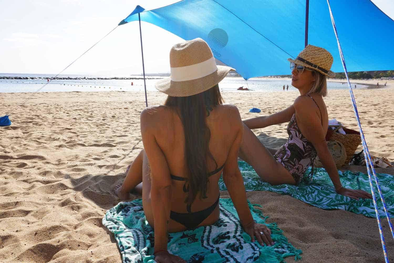 tente de plage Shadysand à Ténérife